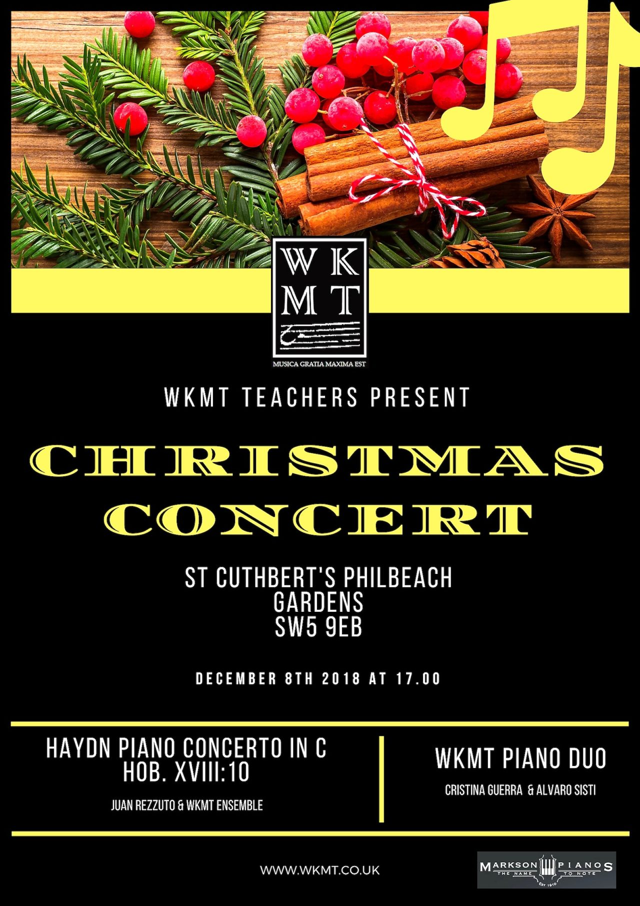 Two New Piano Performances by WKMT